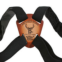 Crooked Horn Slide/Flex Bino System Strap (Black)