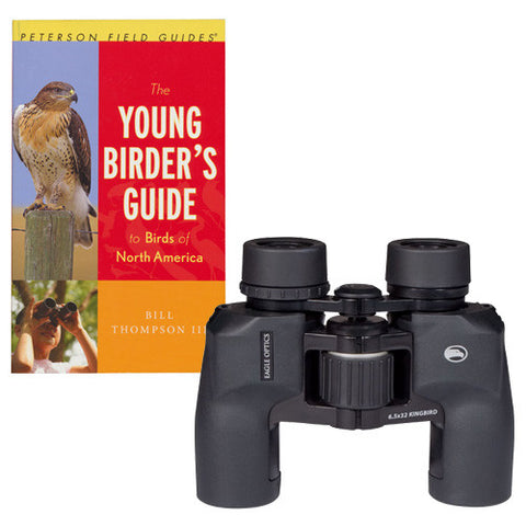 Eagle Optics Kingbird 6.5x32 Young Naturalist Kit