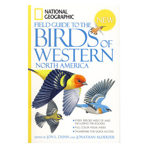 National Geographic Field Guide to Birds of Western North America