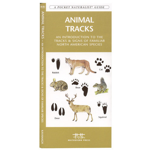 A Pocket Naturalist Guide to Animal Tracks