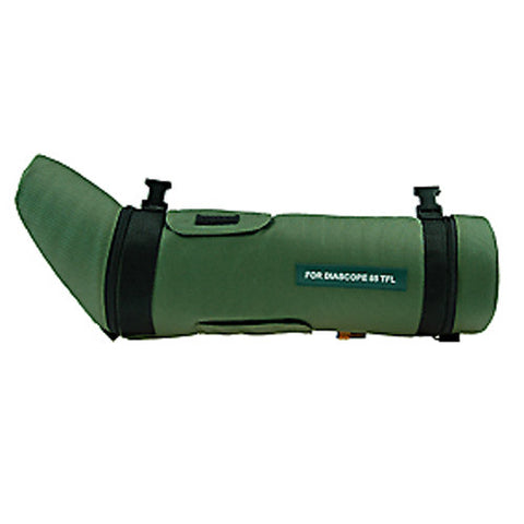 Kite Skua Zeiss Diascope 65 Angled Spotting Scope Case (Green/Silver Body)