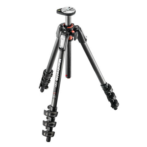 Manfrotto 128RC/MT190CXPRO4 Carbon Fiber Tripod Package