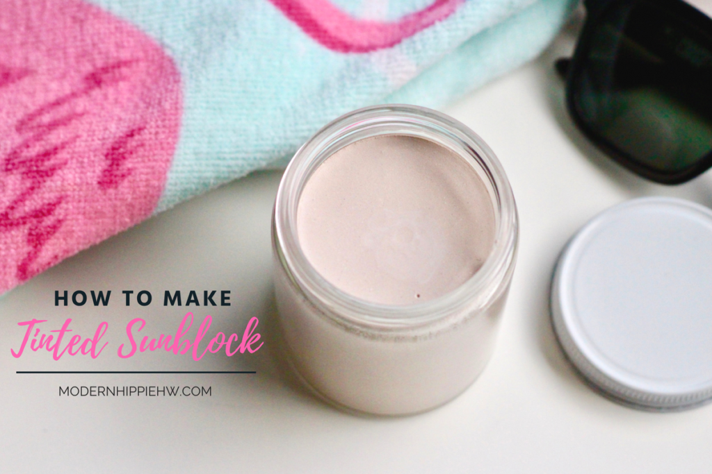 How to Make Tinted Sunblock