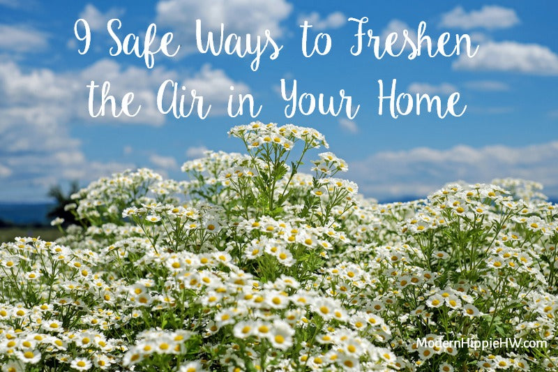9 Safe Ways to Freshen the Air in Your Home