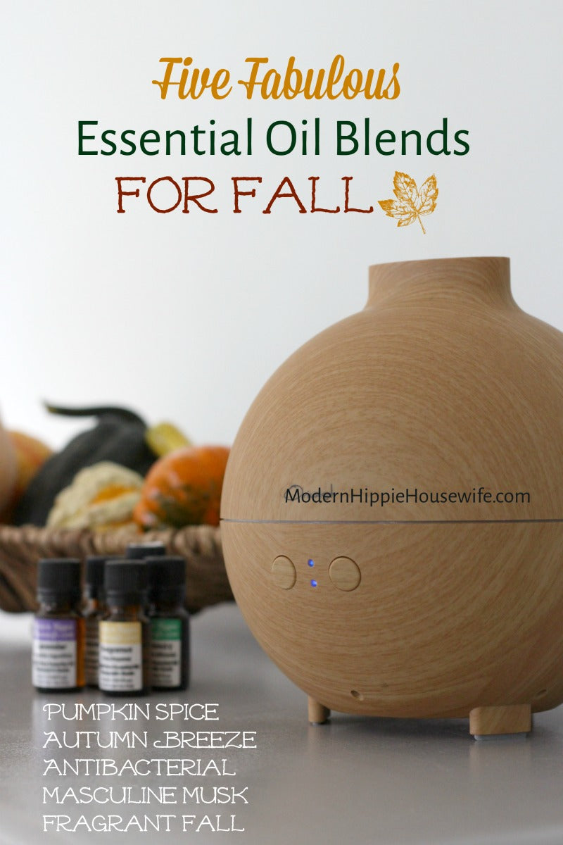 Five Essential Oil Blends for Fall