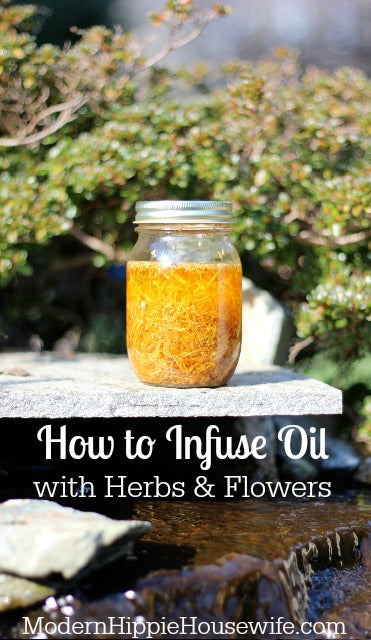 How to Infuse Oil with Herbs and Flowers