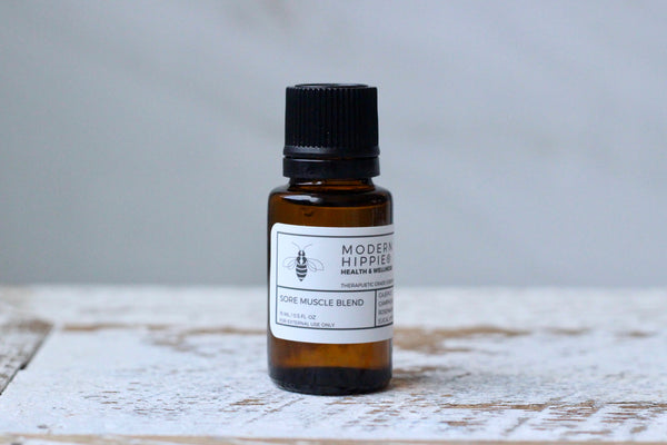 Sore Muscle Essential Oil Blend