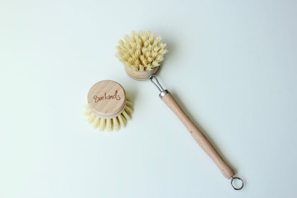 BEEKIND DISH BRUSH & REPLACEMENT HEAD