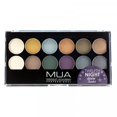 MUA Eyeshadow Palette Twelfth Night height=