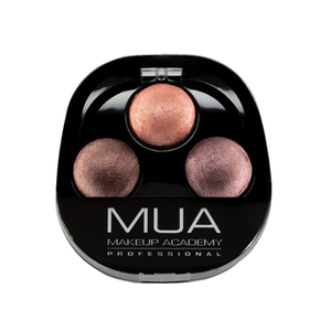 MUA Trio Eyeshadow Chocolate Box