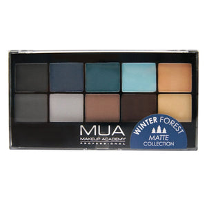 MUA Matte Palette - Winter Forest - GloBox