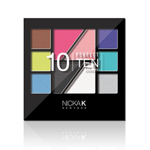 Nicka K Palette Makeup Set Perfect Ten AP022
