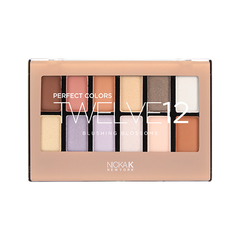 Nicka K Perfect Twelve Eyeshadow - Blushing Blossoms height=