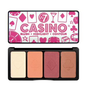 W7 Casino Blush Palette