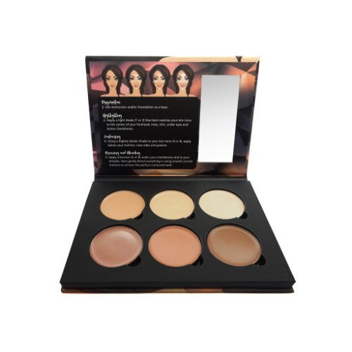 W7 Lift & Sculpt - Face Shaping Contour Palette