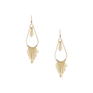 Zero Kaata Silver Oxide Tassels Party Nirvana Handmade Earrings