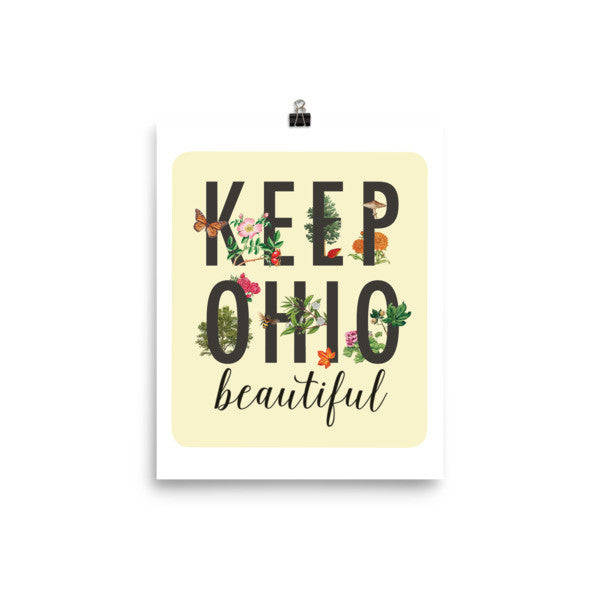 Keep Ohio Beautiful - Poster