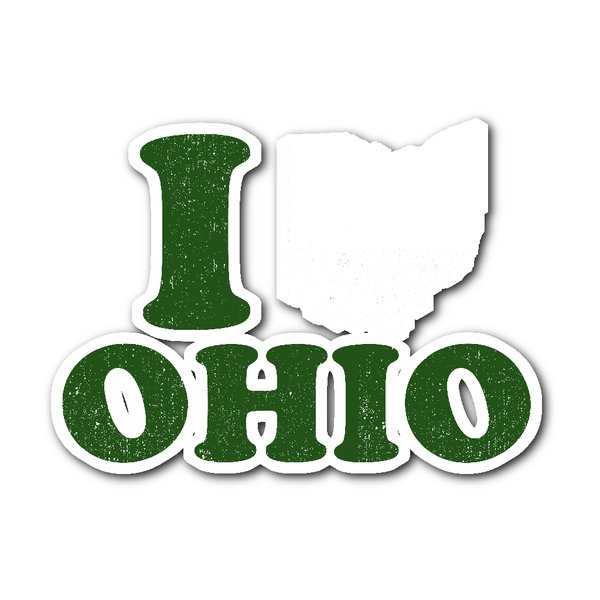 Stickers - I Love Ohio - Sticker
