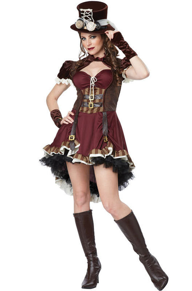 Adult Steampunk Girl Costume