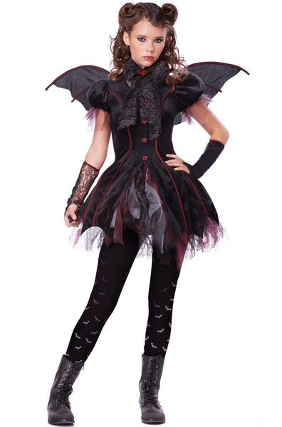 Tween Victorian Vampiress Costume