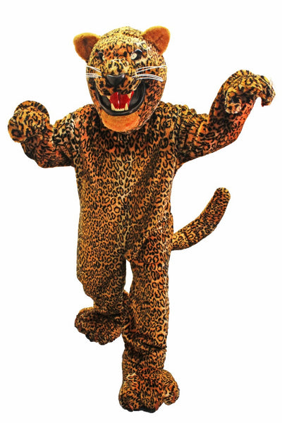 Golden Jaguar Mascot