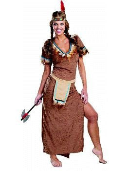 Adult Tiger Lily Native American Indian Costume