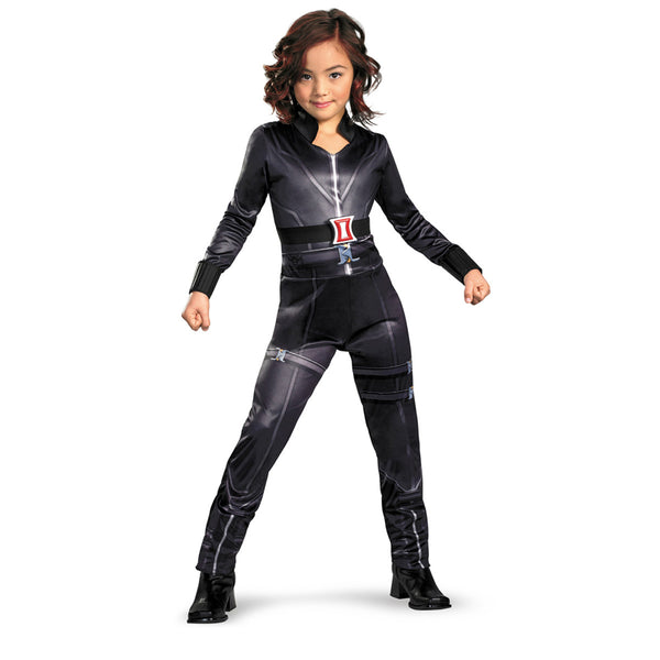 Kids Black Widow Classic Costume