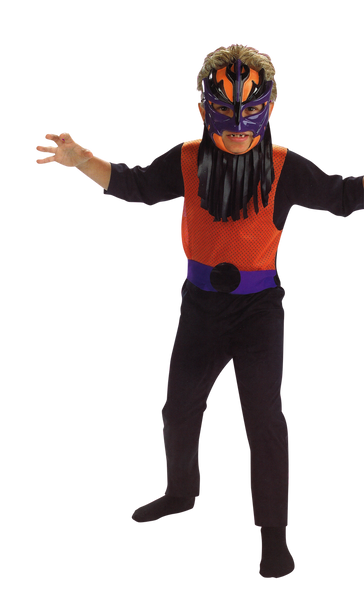 Kids Mighty Wrestler Costume