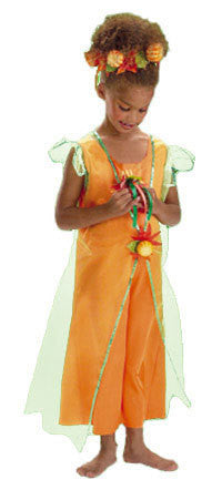Kids Pumpkin Fairy Costume