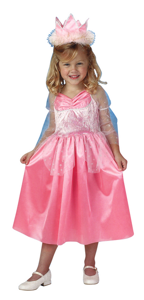 Kids Pink Star Queen Deluxe Costume