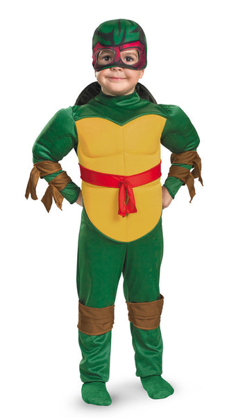 Kids Teenage Mutant Ninja Turtles Raphael Muscle Costume