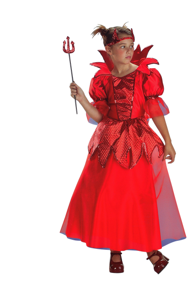 Kids Devil Princess Deluxe Costume