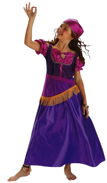 Kids Gypsy Deluxe Costume