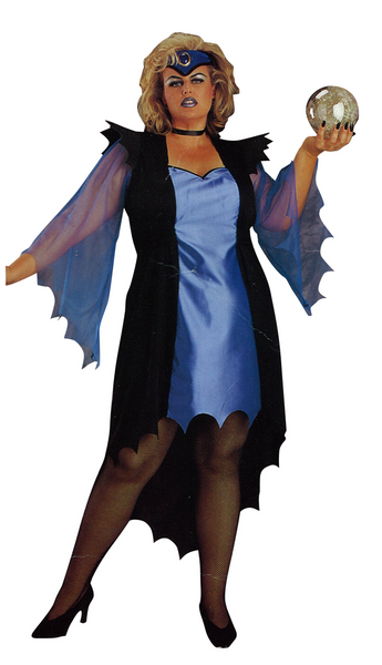 Adult Sorceress Plus Costume