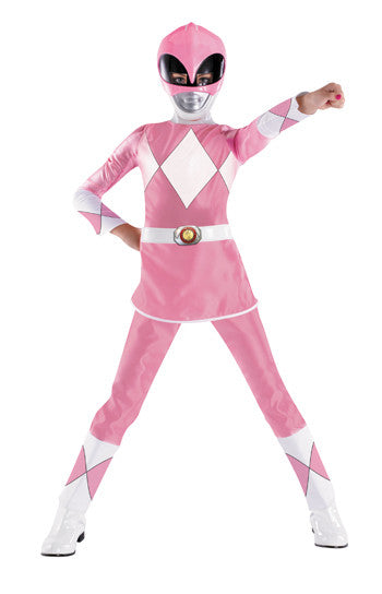 Kids Pink Power Ranger Costume