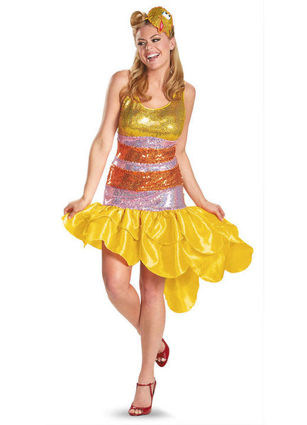 Adult Big Bird Glam Deluxe Costume