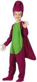 Toddler Barney Costume