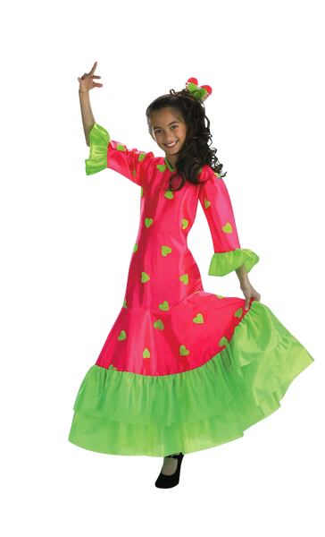 Kids Flamenca Costume