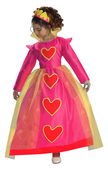 Kids Heart Princess Costume