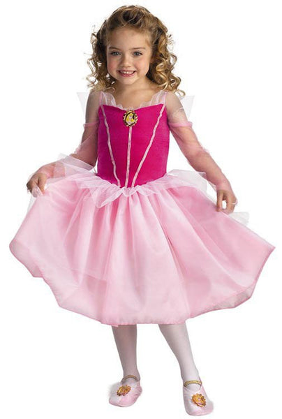 Kids Sleeping Beauty Aurora Ballerina Costume