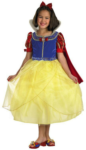 Kids Snow White Deluxe Costume DI-6322