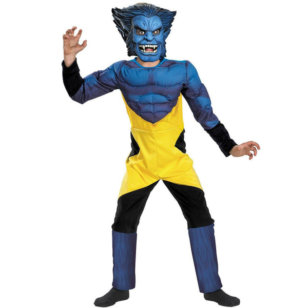 Kids X-men Beast Deluxe costume