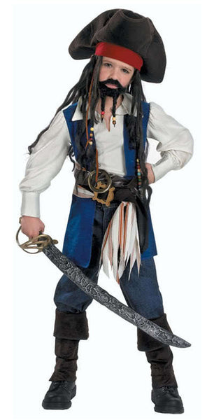 Kids Captain Jack Sparrow Deluxe Costume