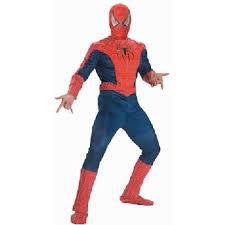 Adult  Spiderman 3 Deluxe Costume
