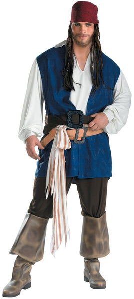 Adult Captain Jack Sparrow Classic Costume
