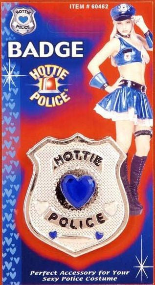 Hottie Police Badge
