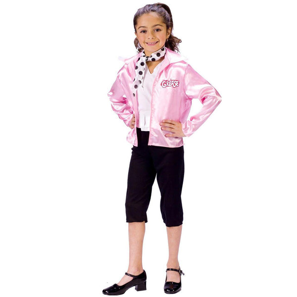 Child Grease Pink Ladies Costume