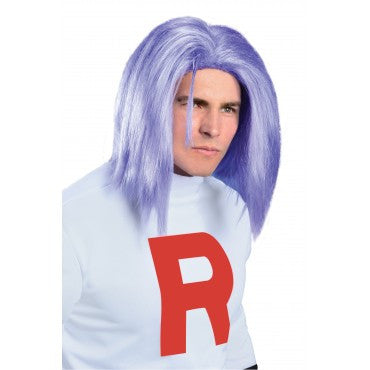 Adult James Pokemon Wig