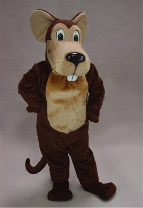 Cartoon Mouse Mascot