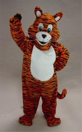 Striped Tiger Mascot